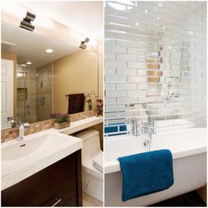 Espejos de baño grandes