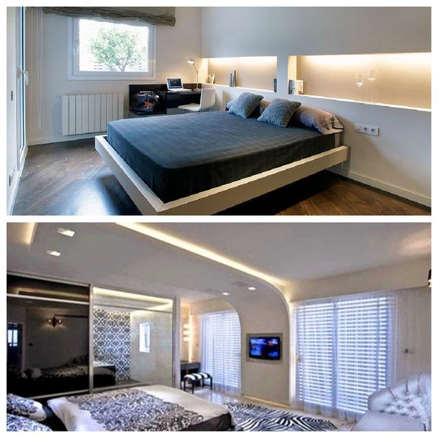 iluminación indirecta dormitorio