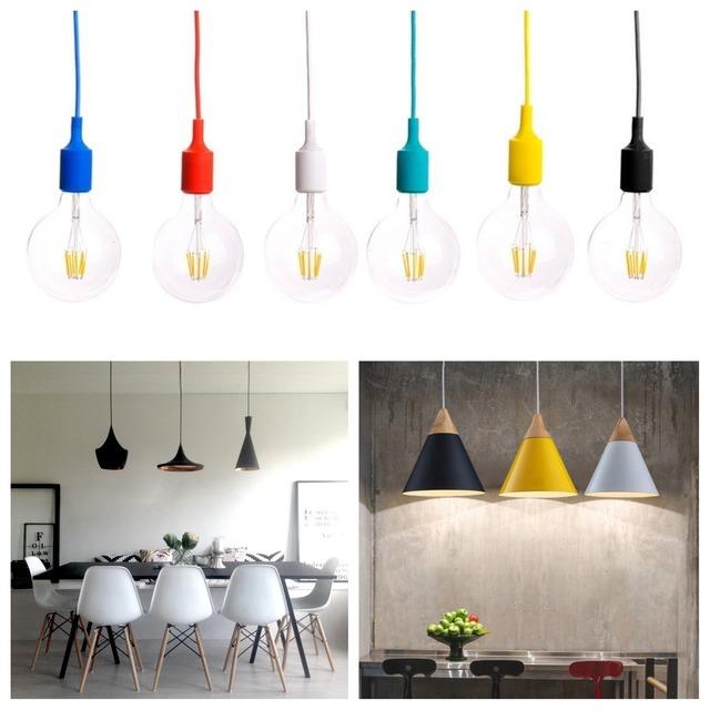 Diferentes lámparas combinadas