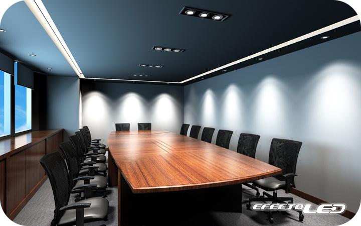 iluminacin led para salas de reuniones