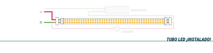 Instalación de Tubos LED - Parte 3