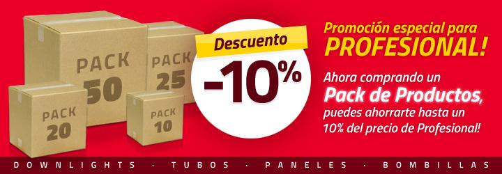 Promoción Packs de Productos
